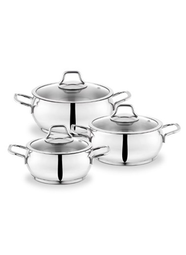 Schafer Cookhaus 6 Prç. Tencere Seti Renkli